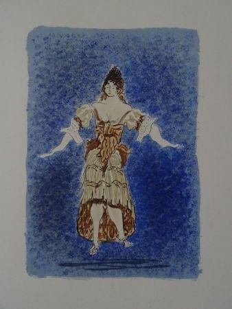 Litografia Braque - Les Facheux