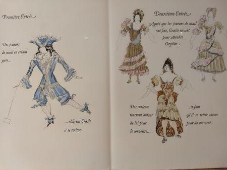 Libro Illustrato Braque - Les Facheux