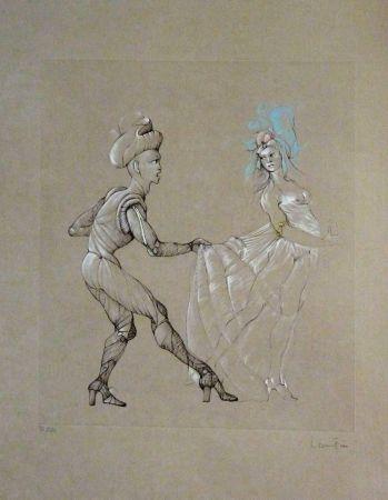 Litografia Fini - Les Femmes