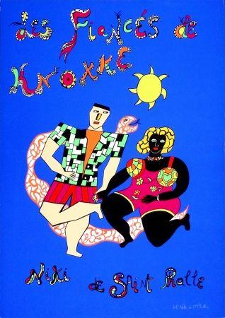 Serigrafia De Saint Phalle - Les fiancés de Knokke