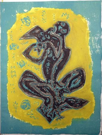 Libro Illustrato Masson - LES HAIN-TENY. 16 eaux-fortes et reliefs en couleurs.
