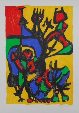 Litografia Ionesco - Les hauts danseurs