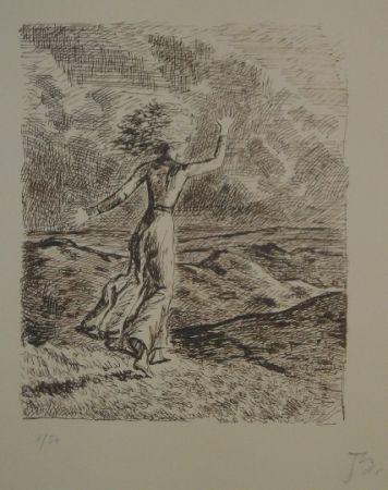 Litografia Balthus - Les hauts de hurlevent 2