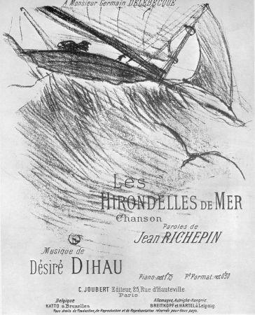 Litografia Toulouse-Lautrec - Les Hirondelles De Mer
