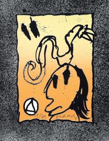 Litografia Alechinsky - Les infeuilletables 4