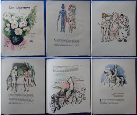 Litografia Van Dongen - Les Lepreuses