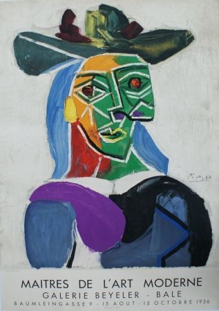 Litografia Picasso - Les Maîtres de l'Art Moderne