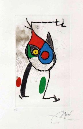 Incisione Miró - Les Magies