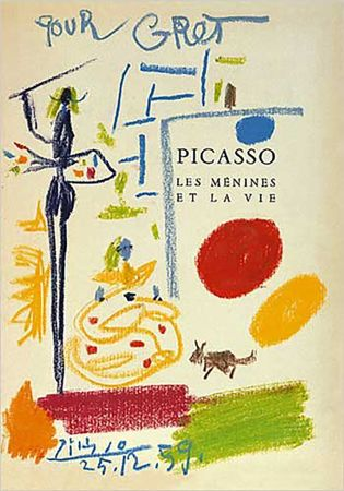 Litografia Picasso - Les Menines Et La Vie