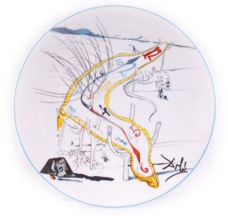 Ceramica Dali - Les Montres Gélatines de l'espace temps (La Conquête du Cosmos)
