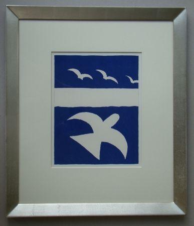 Litografia Braque - Les Oiseaux