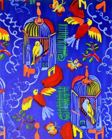 Litografia Dufy - Les Oiseaux