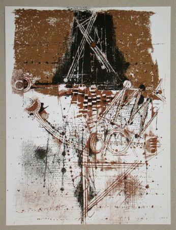Litografia Friedlaender - Les oiseaux