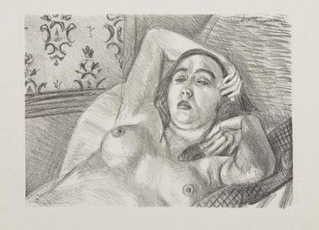Litografia Matisse - Les Peintres Lithographes de Manet à Matisse, circa 1925.