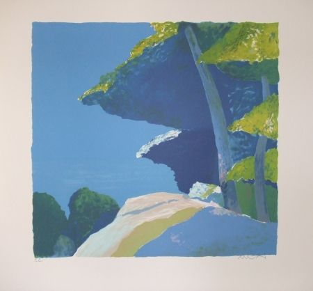 Litografia Muhl - Les  pins.