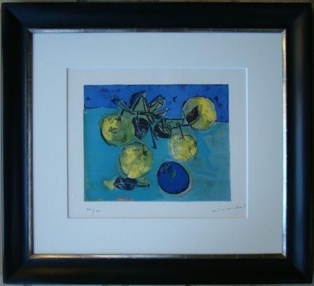 Litografia Marchand - Les pommes