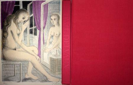 Libro Illustrato Delvaux - Les Rideaux Mauves (Les Dessins de Paul Delvaux)