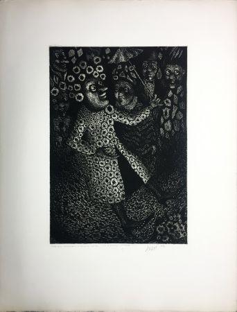 Acquatinta Avati - Les Ridicules (planche n° 2) (1951)