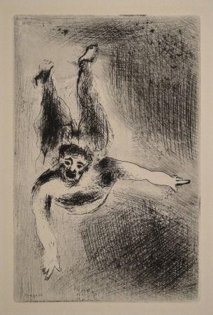 Acquaforte Chagall - Les sept Peches capitaux: La Colere