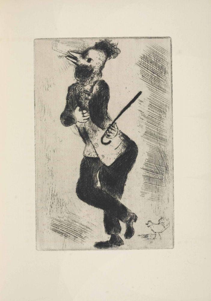 Acquaforte Chagall - Les sept Peches capitaux: L'Orgueil 1