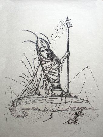Litografia Dali - Les Songes drolatiques de Pantagruel 15
