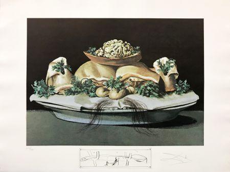 Litografia Dali - LES SUPRENES DE MAILLAISE LILIPUTIENS