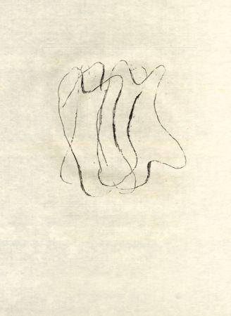 Acquaforte Fautrier - Les torses nus (fautrier l'enragé)