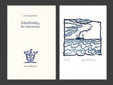 Libro Illustrato Alechinsky - Les Traversées