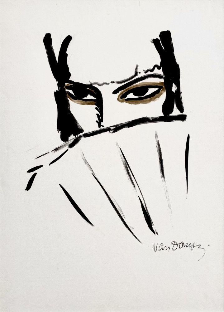 Litografia Van Dongen - L'Espagnole