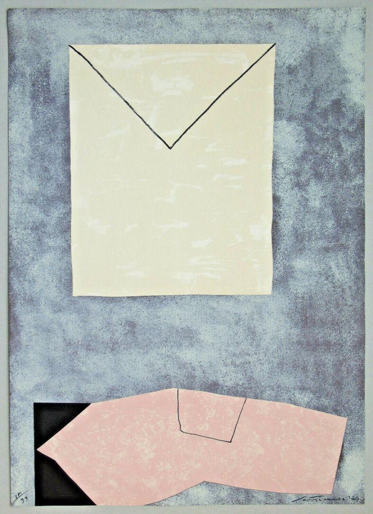 Litografia Santomaso - Lettera