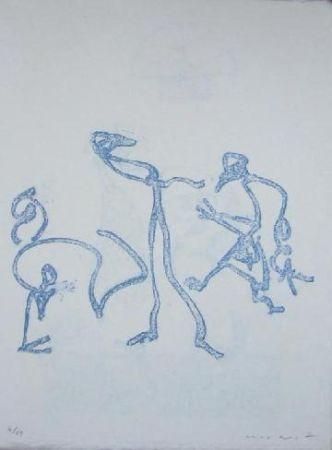 Litografia Ernst - Lewis Caroll's Wunderhorn