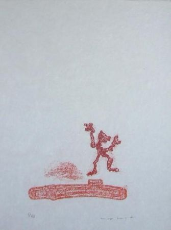 Litografia Ernst - Lewis Carroll's Wunderhorn 36