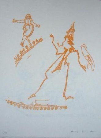 Litografia Ernst - Lewis Carroll's Wunderland 15