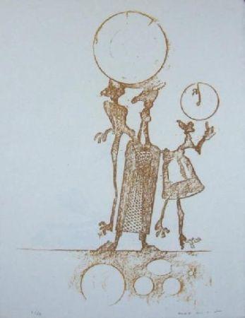 Litografia Ernst - Lewis Carrol's Wunderhorn 18