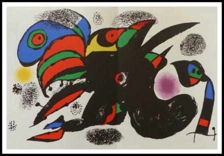 Litografia Miró - L'extrême origine