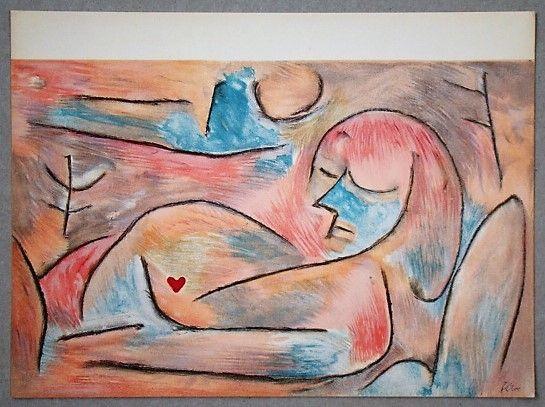 Litografia Klee - L'hiver