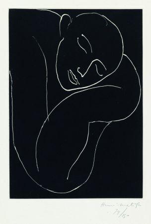 Acquatinta Matisse - L'Homme endormie