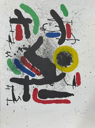 Litografia Miró - Liberté des libertés 2
