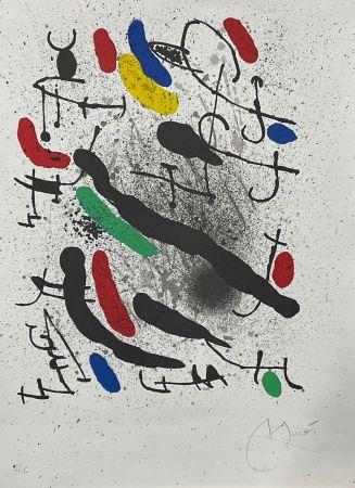 Litografia Miró - Liberté des libertés 3