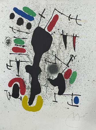 Litografia Miró - Liberté des libertés 4
