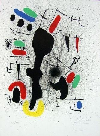 Litografia Miró - Liberté des libertés II