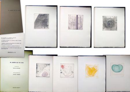 Libro Illustrato Corbero - Libro de Artista - El jardín de tu casa
