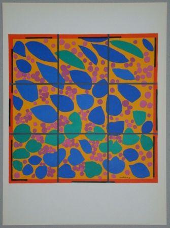 Litografia Matisse - Lierre en Fleur
