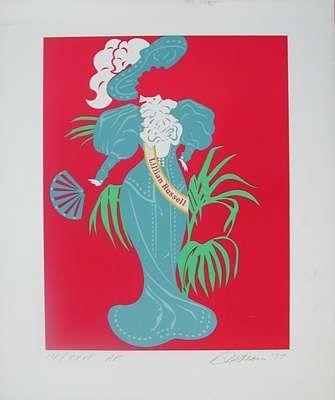 Serigrafia Indiana - Lillian Russell