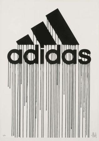 Serigrafia Zevs - Liquidated Adidas