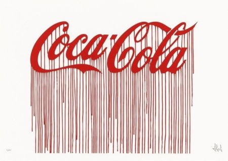 Serigrafia Zevs - Liquidated Coca-Cola
