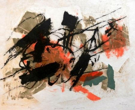 Litografia Afro - L'Isola del Giglio