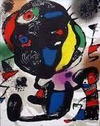 Litografia Miró - Litho 4  (1260)