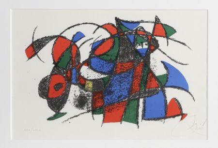 Litografia Miró - Lithograph III