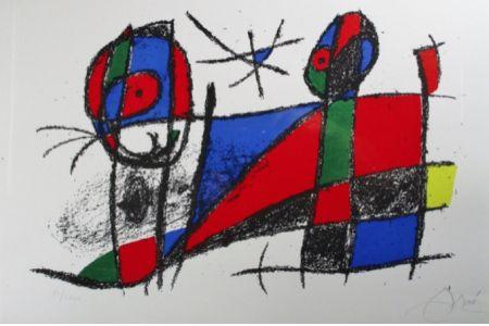 Litografia Miró - Lithograph Vi From Vol. Ii